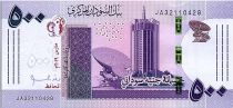 Sudan 500 Pounds Building - Refinery - 2019 - UNC - P. New