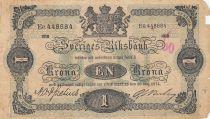 Suède 1 Krona 1918 - Armoiries