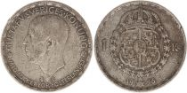 Suède 1 Krona 1946TS - Armoiries, Gustaf V - Argent