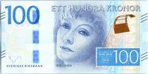 Suède 100 Kronor Greta Garbo - 2016