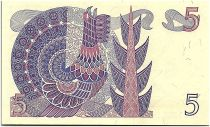 Suède 5 Kronor - Gustav Vasa - 1978 - BZ - p.NEUF - P.51