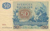 Suède 50 Kronor Gustav III - 1990