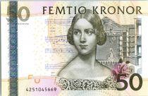 Suède 50 Kronor Jenny Lind - Violon - 2004