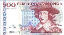 Suède 500 Kronor, Carl XI - Cristopher Polhem - 1999