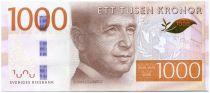 Suède New4.2015 1000 Kronor, Dag Hammarskjöd - Diplomate 2015
