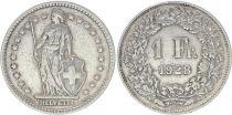 Suisse 1 Franc Helvetia - 1928 B Berne