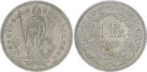 Suisse 1 Franc Helvetia - 1945 B Berne