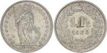 Suisse 1 Franc Helvetia - 1964 B Berne
