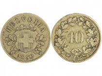Suisse 10 Rappen Armoiries