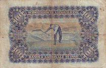 Suisse 100 F Tête de Femme - Paysan