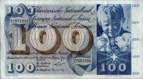 Suisse 100 Francs Enfant - St Martin - 21-12-1961 - 27S51899