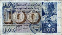 Suisse 100 Francs Enfant - St Martin - 28-03-1963 - 33B01417