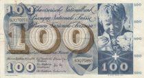 Suisse 100 Francs Enfant - St Martin - 30-06-1967 Série 60Q