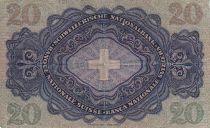 Suisse 20 F Johann Heinrich Pestalozzi - Croix Suisse