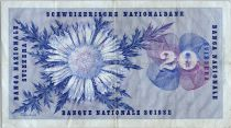 Suisse 20 Francs  Guillaume Henri Dufour - Edelweiss - 02/04/1964