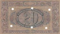 Suisse 20 Francs Paysanne - 29-09-1927 Série 10 F