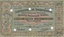 Suisse 20 Francs Paysanne