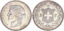 Suisse 5 Francs Tête de femme - 1907 B