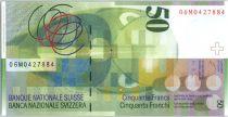 Suisse 50 Francs - Sophie Taeuber -Arp -  2006