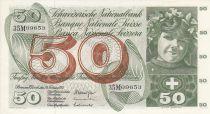 Suisse 50 Francs Fillette - Cueillette des pommes - 10-02-1971 - Sign. 45