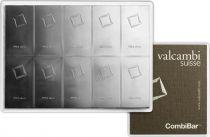 Suisse Lingot Argent - 10 x 10 Grammes - VALCAMBI