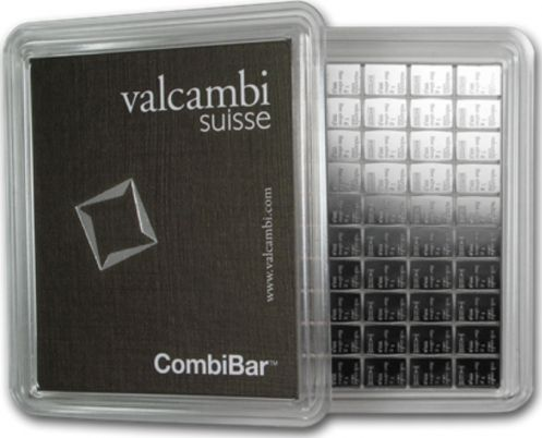 Suisse Lingot Argent - 100 x 1 Gramme - VALCAMBI
