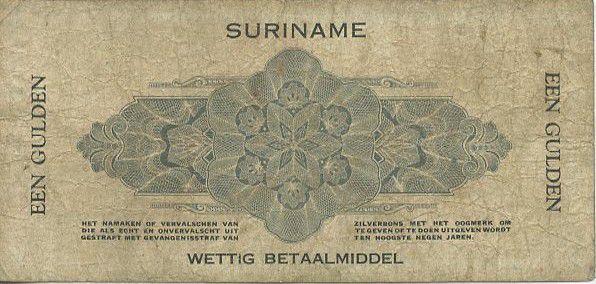 Suriname 1 Gulden Femme casquée
