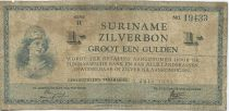 Suriname 1 Gulden Helmeted woman
