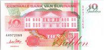 Suriname 10 Gulden, Récolte des bananes - 1996 - Neuf - P.137 c