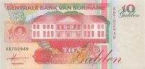 Suriname 10 Gulden Récolte des bananes - 1996