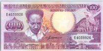 Suriname 100 Gulden, Anton Dekom - Toucan - 1986 - Neuf - P.133 a