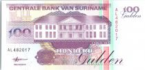Suriname 100 Gulden, Exploitation minière - 1998 - Neuf - P.139 b