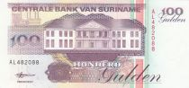 Suriname 100 Gulden Bank, Strip mining - 1998