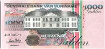 Suriname 1000 Gulden, Récolte - 1995 - Neuf - P.141 b