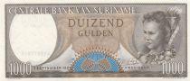 Suriname 1000 Gulden Femme  - Armoiries 1963