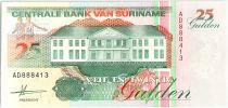 Suriname 25 Gulden, Anthony Neste (nageur) - 1991 - Neuf - P.138 a