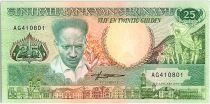 Suriname 25 Gulden, Anton Dekom - Toucan - 1988 - Neuf - P.133 b