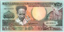 Suriname 250 Gulden, Anton Dekom - Toucan - 1988 - Neuf - P.134
