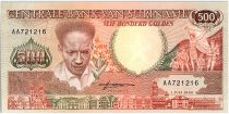 Suriname 500 Gulden, Anton Dekom - Toucan - 1986 - Neuf - P.135 a