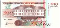 Suriname 500 Gulden, Forage petrolier - 1991 - Neuf - P.140