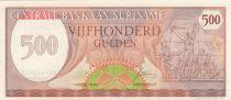 Suriname 500 Gulden Indépendance 1980 - 1982