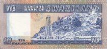 Swaziland 10 Emalangeni Roi Sobuzha II - Mine Asbestos
