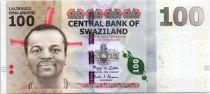 Swaziland 100 Emalangeni Kg Mswati III - Animals - 2010