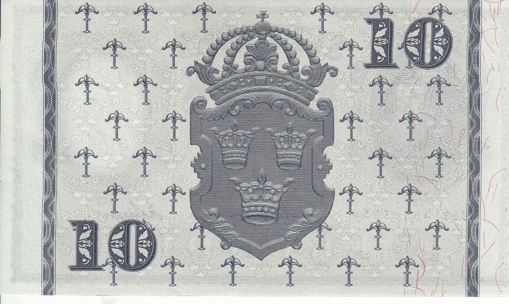 Sweden 10 Kronor King Gustaf Vasa - 1958