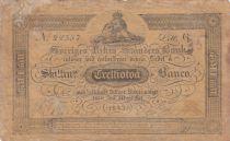 Sweden 32 Skillingar Banco - 1843 - Fine - A.123c