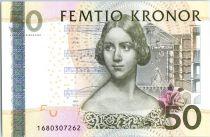 Sweden 50 Kronor Jenny Lind - Violon - 2011