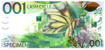Switzerland 1, Test Note - KBA-Giori - Caterpillar and Butterfly - 2010