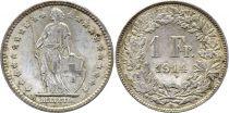 Switzerland 1 Franc Helvetia - 1914 B Bern