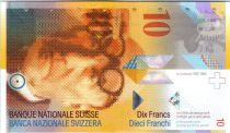 Switzerland 10 Francs Le Corbusier - 2013