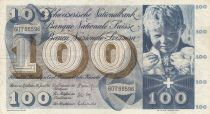 Switzerland 100 Francs Child - St Martin - 30-06-167 Serial 60T